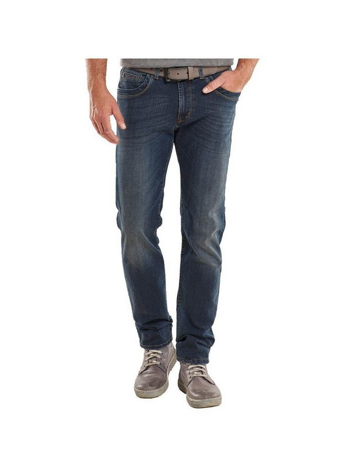 engbers Jeans straight in Enzianblau