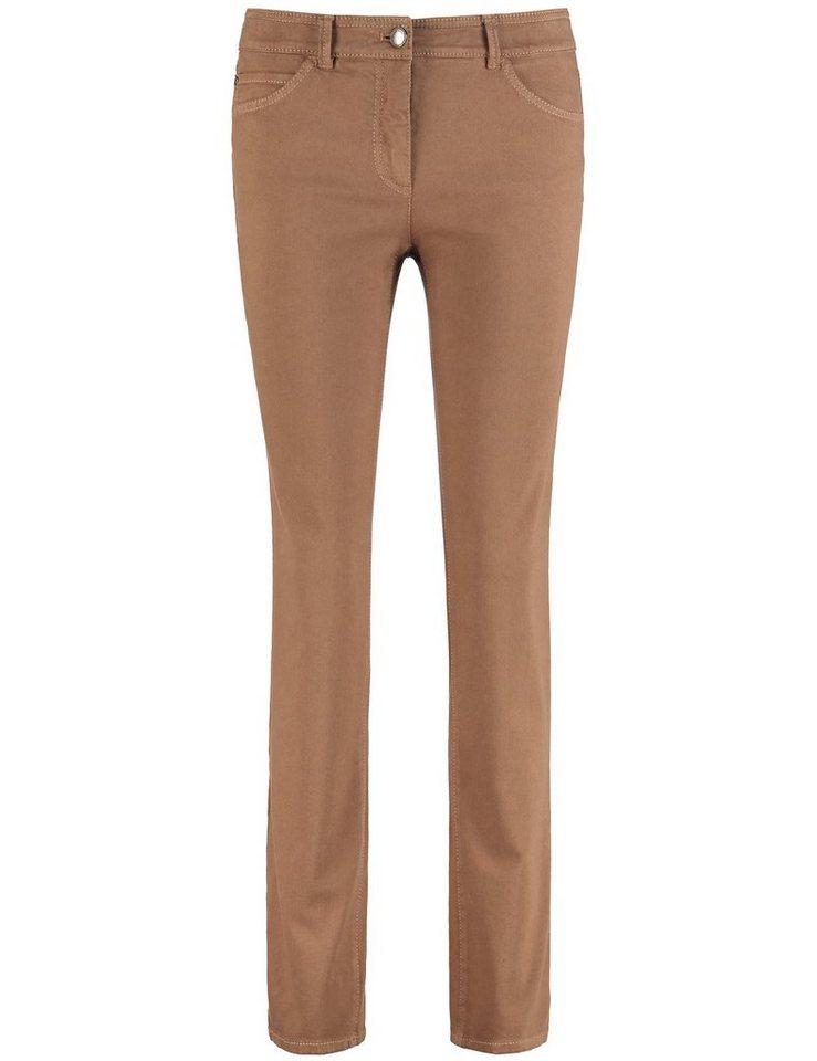 Gerry Weber Hose Jeans lang »5-Pocket Hose« in Muskat