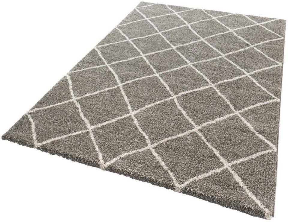 Teppich, Mint Rugs, »Diva«, gewebt in taupe