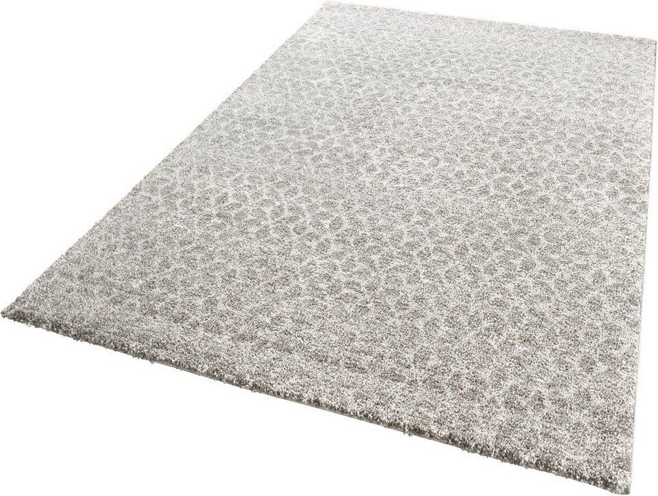Teppich, Mint Rugs, »Impress«, gewebt in grau taupe