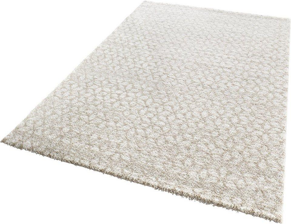 Teppich, Mint Rugs, »Impress«, gewebt in beige creme