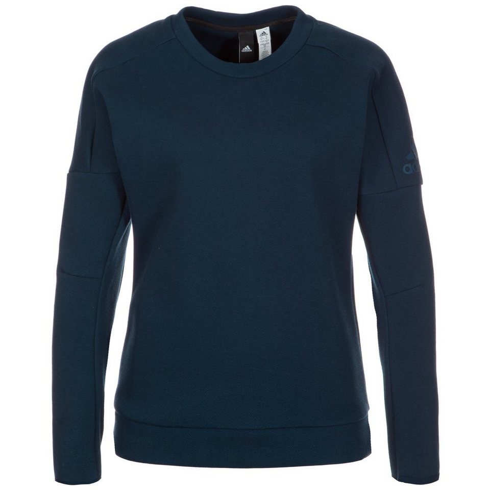 adidas Performance Z.N.E. Crew Sweatshirt Damen in dunkelblau
