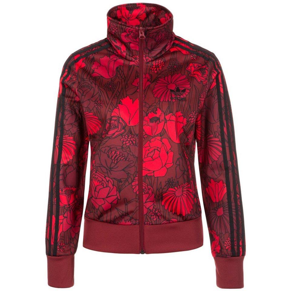 adidas Originals Firebird Track Top Jacke Damen in rot
