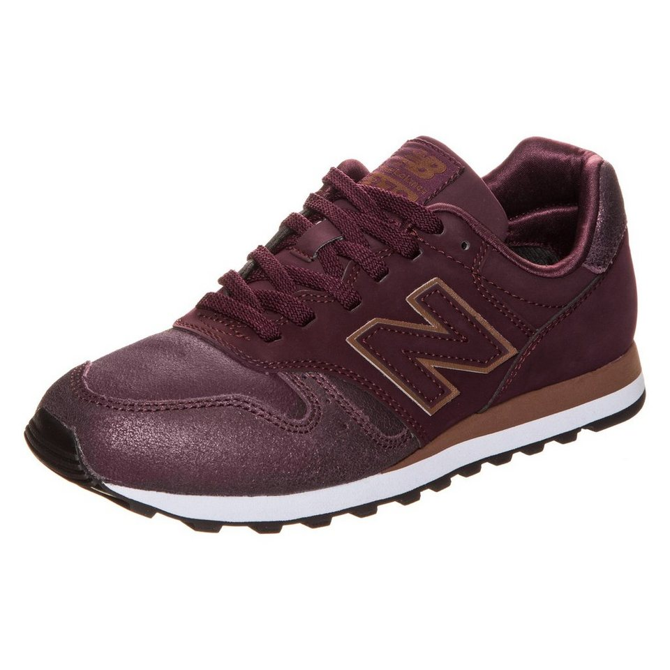 NEW BALANCE WL373-PG-B Sneaker Damen in bordeaux