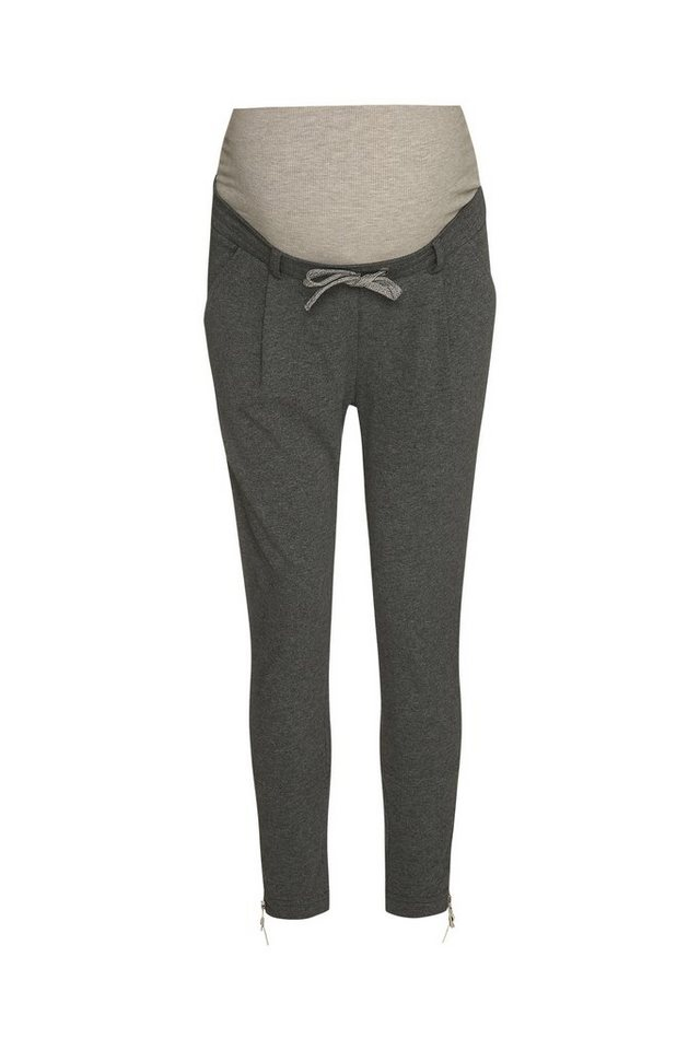 BELLYBUTTON Joggpants für Schwangere, Bindeband in middle gray melange