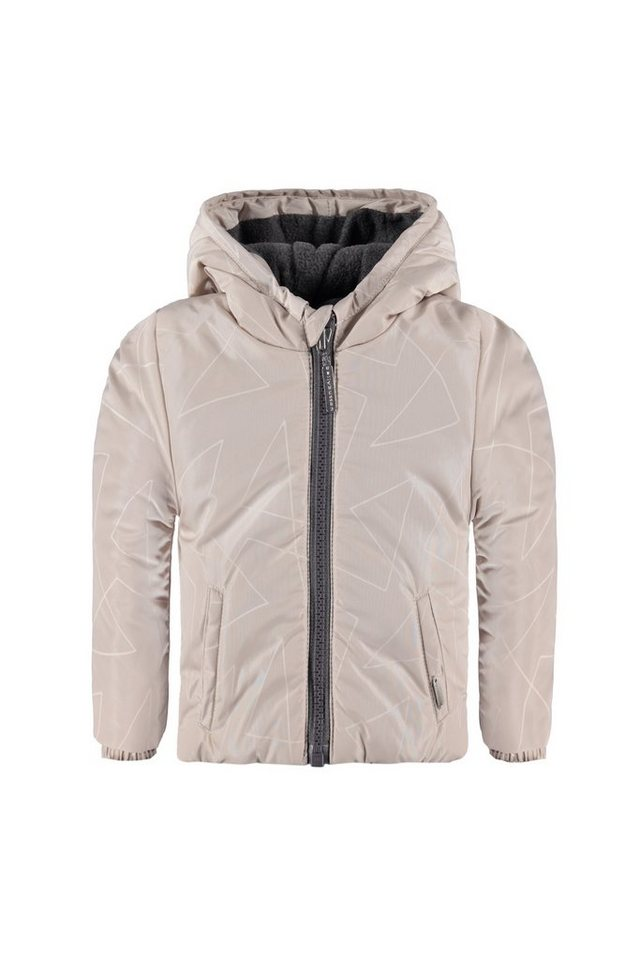 BELLYBUTTON Outdoor Jacke Baby, Kapuze in pumice stone