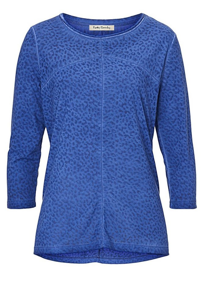 Betty Barclay Shirt in royal blau - Bunt