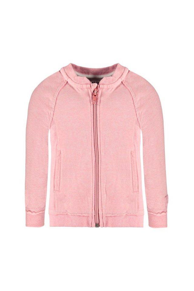 BELLYBUTTON Sweatjacke, Baby, Zipper in prism pink melange