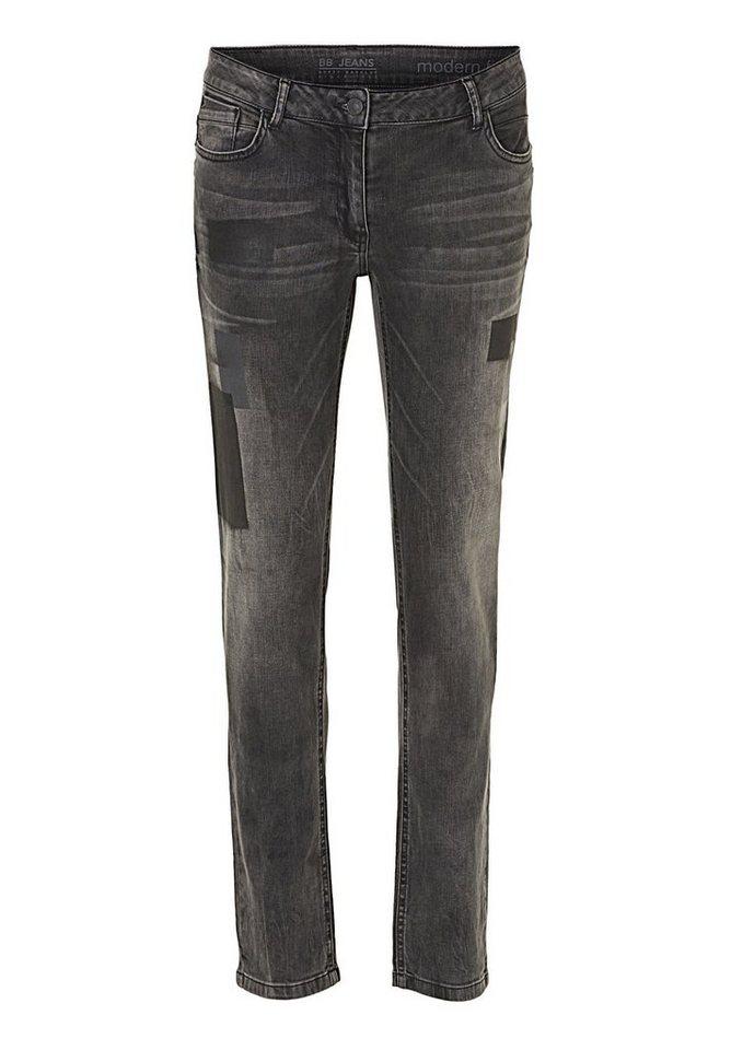 Betty Barclay Jeans in Black Denim - Bunt