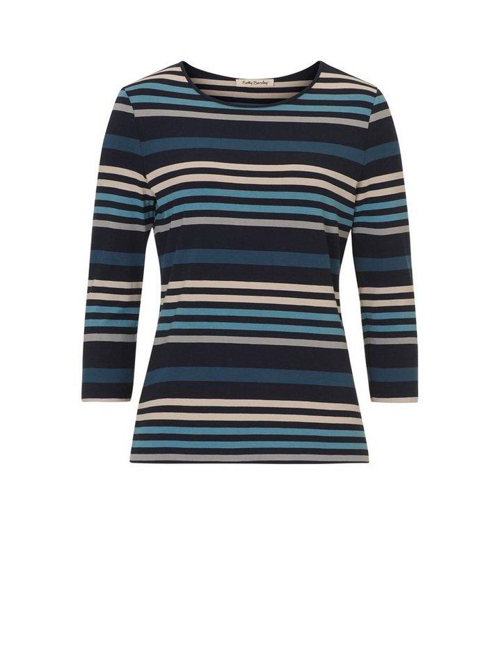 Betty Barclay Shirt in Petrol/Beige - Blau