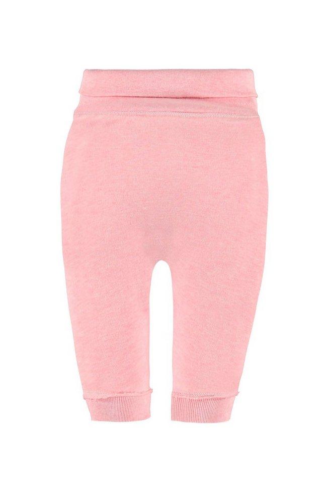 BELLYBUTTON Jogginghose, Baby, breiter Bund in prism pink melange