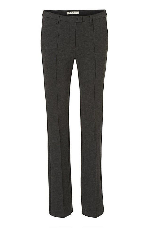 Betty Barclay Hose in Anthracite Melange -