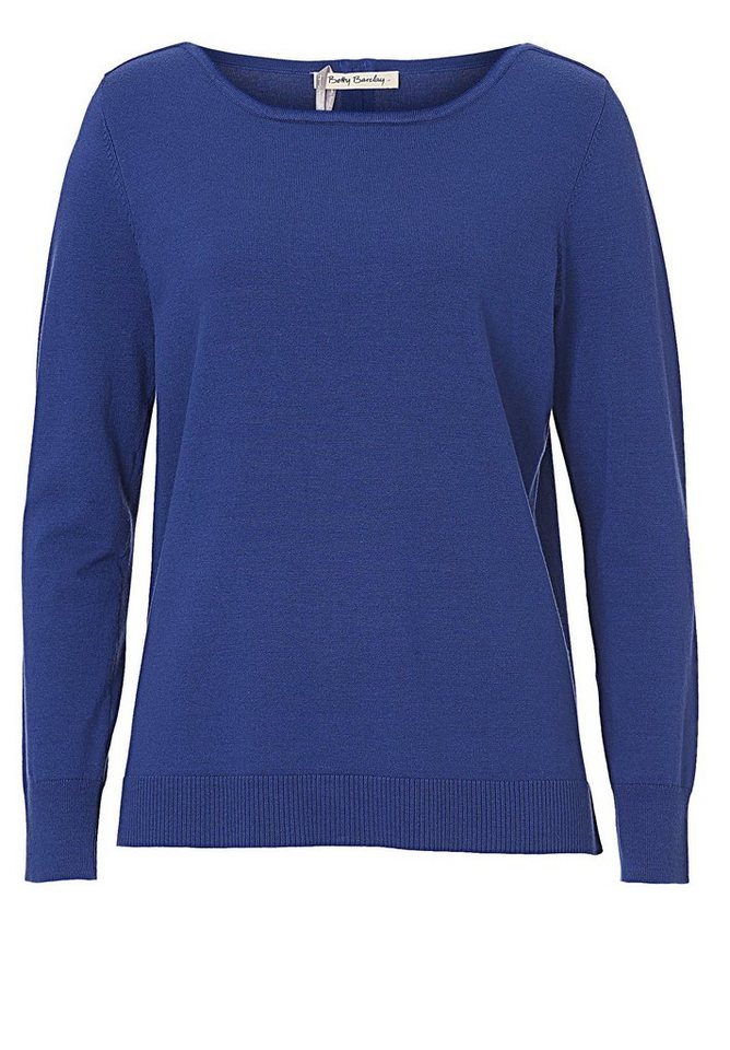Betty Barclay Strickpullover in royal blau - Blau