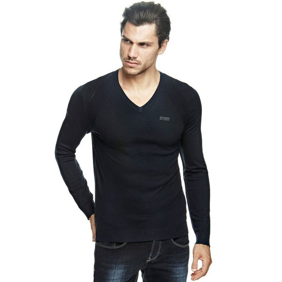 Guess PULLOVER AUS WOLLMIX in Mehrfarbig, Grundton