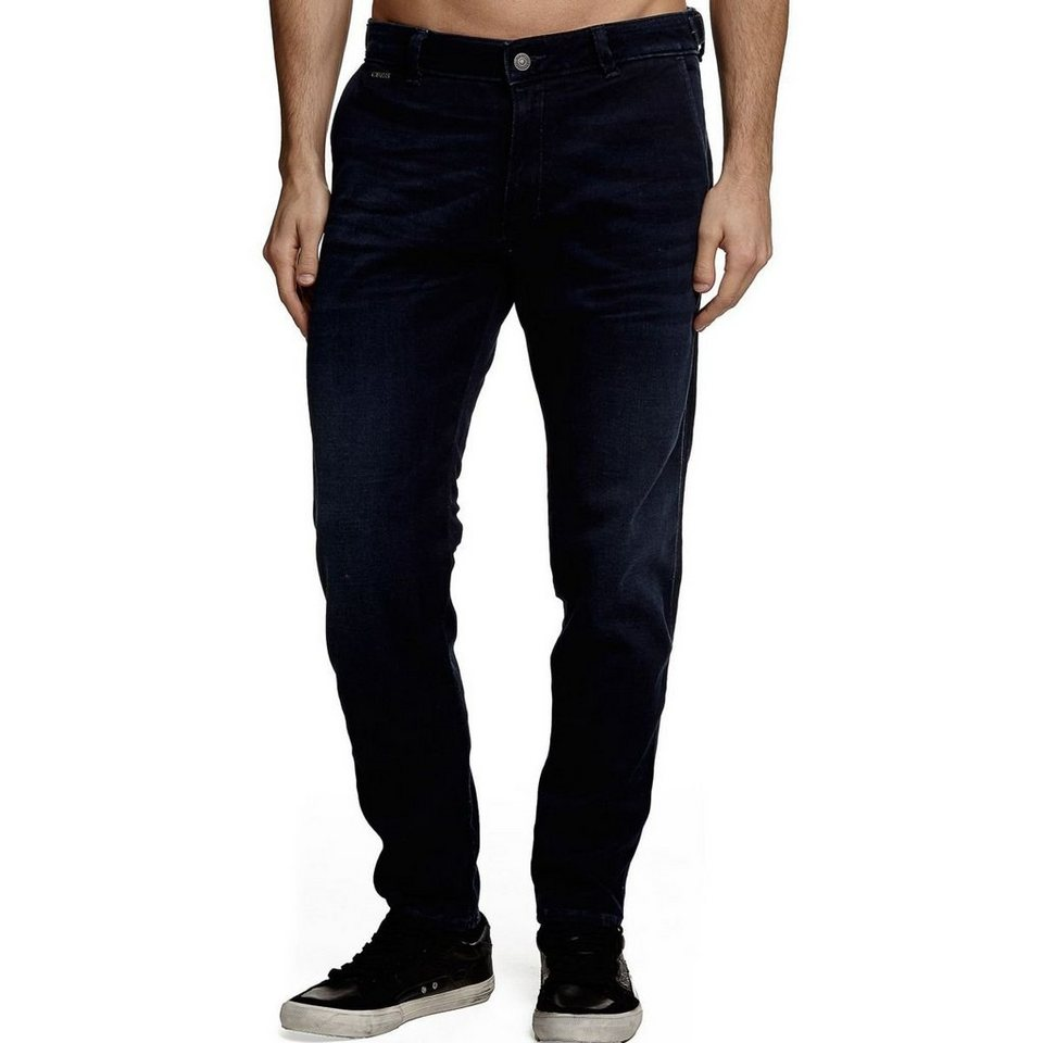 Guess FLEX JEANS REGULAR in Schwarz