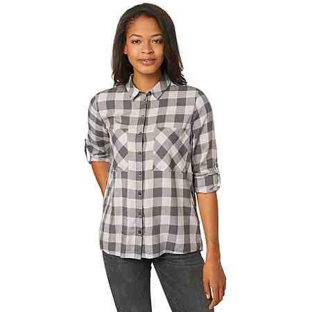 TOM TAILOR Bluse »fluent check blouse«
