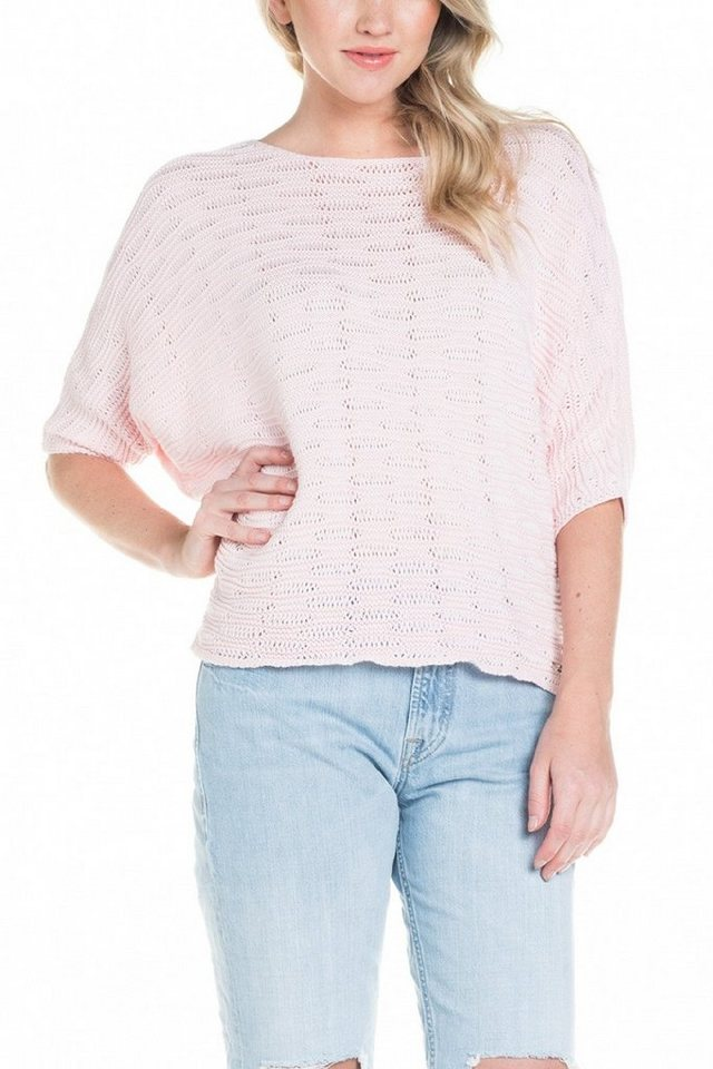salsa jeans Pullover »ESTRELA« in Pink