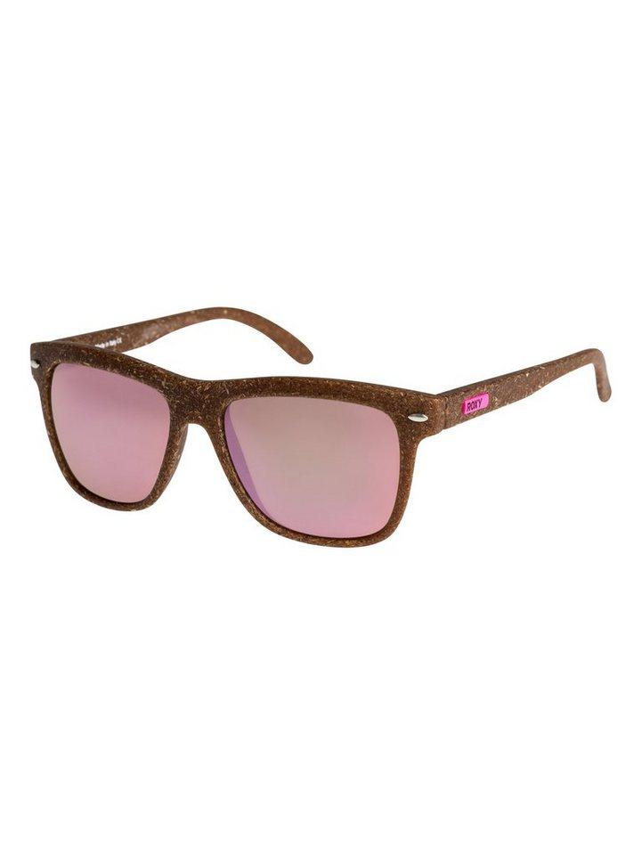Roxy Sonnenbrille »Miller« in Brown/brown/pink