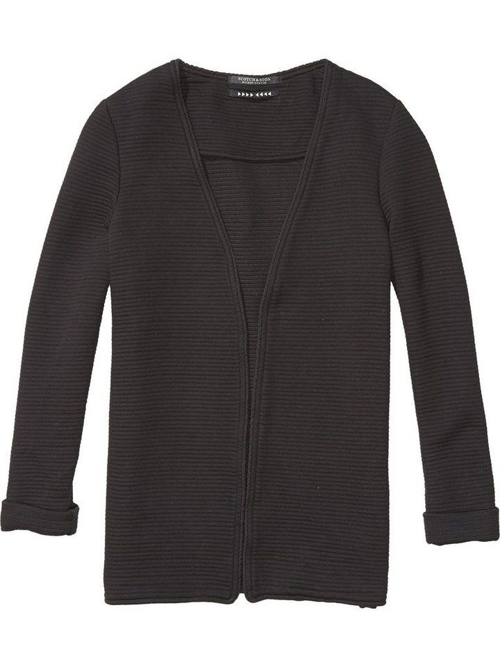 Maison Scotch Blazer »Sweat Blazer schwarz« in schwarz