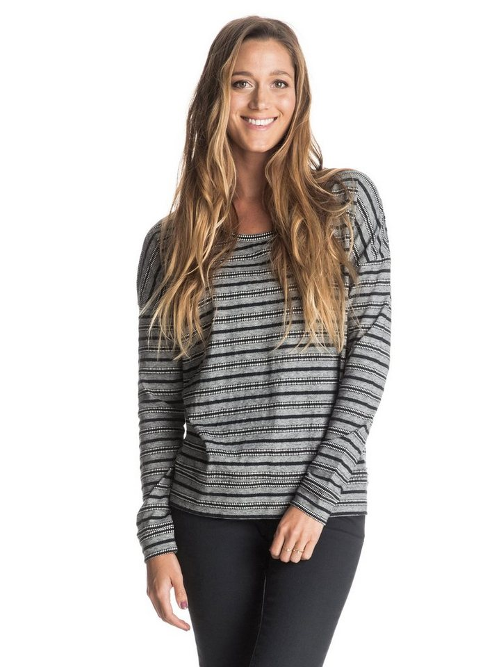 Roxy Longsleeve »At My Window« in Anthracite