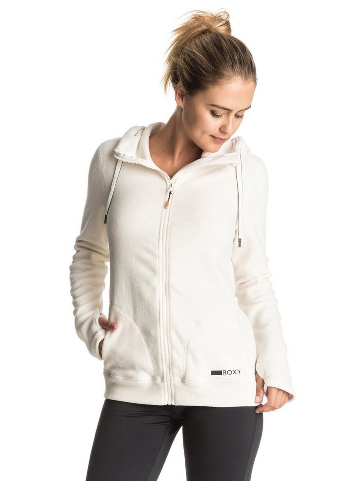 Roxy Fleece-Kapuzenpulli »Suuvra« in Jet stream