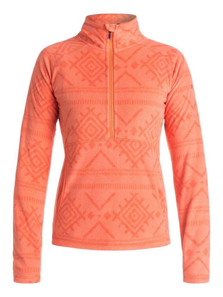 Roxy Half-Zip Fleece-Pullover »Cascade« in Camellia