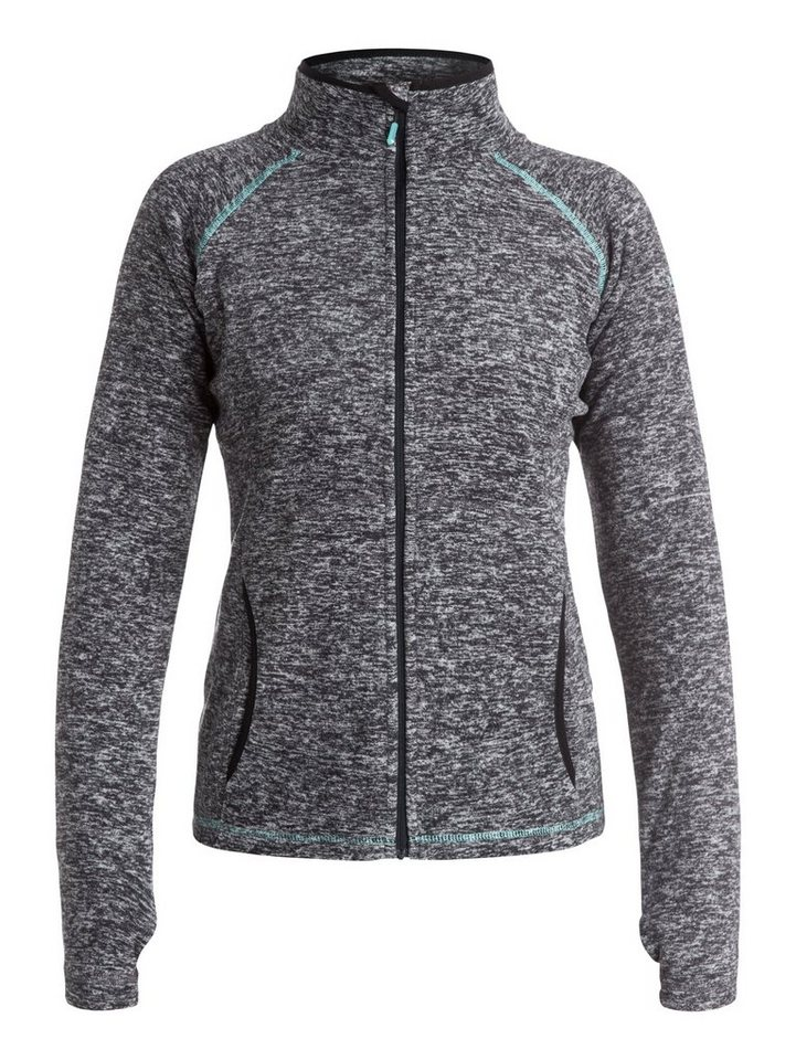 Roxy Zip-Up Funktions-Fleece »Harmony« in anthracite
