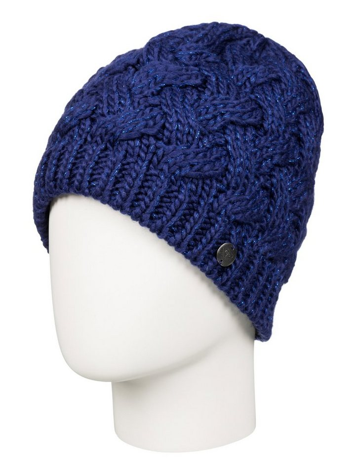 Roxy Beanie »Love And Snow« in Blue print