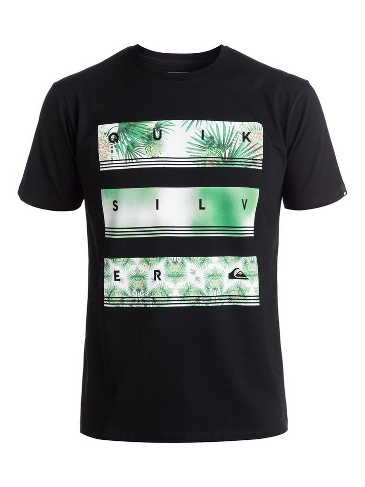 Quiksilver T-Shirt »Classic Hyper Stack« in Anthracite
