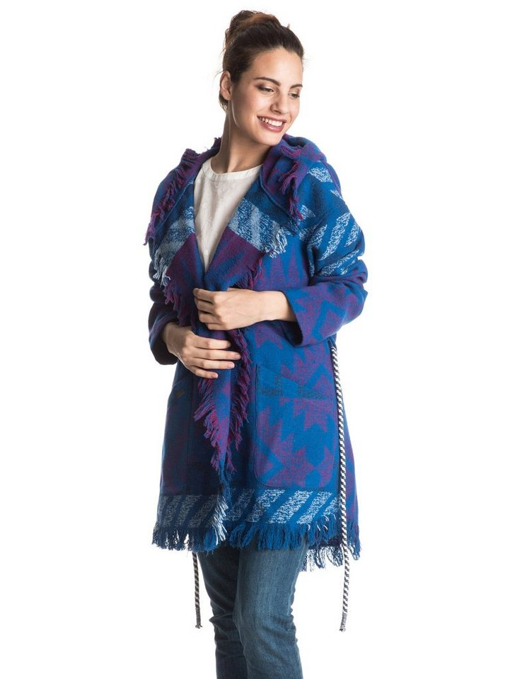 Roxy Wickel-Mantel im Decken-Stil »Santa Katalina« in Palace blue