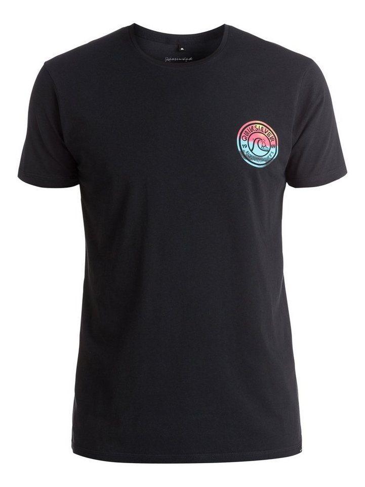 Quiksilver T-Shirt »Logo Zing Zang« in anthracite