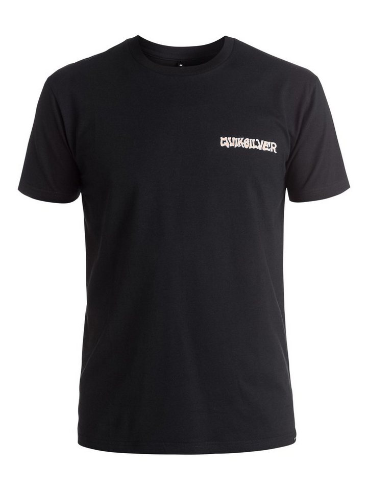 Quiksilver T-Shirt »AM Peace Pipe« in anthracite