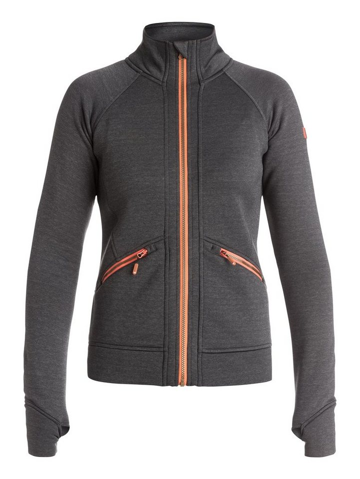 Roxy Polartec Zip-Up Mid Layer »Glisten« in Wild dove