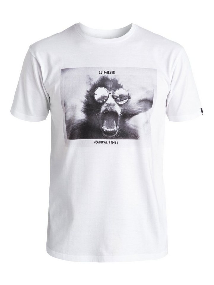 Quiksilver T-Shirt »Classic Summer« in Bright white