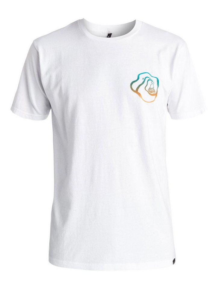 Quiksilver T-Shirt »AM Stay High« in bright white
