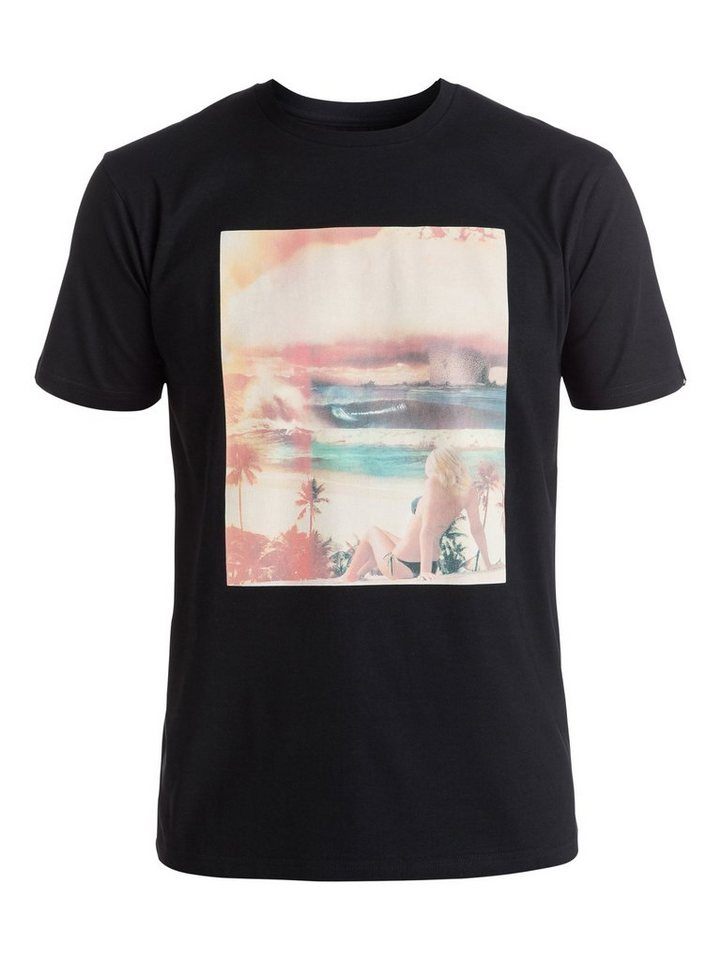 Quiksilver T-Shirt »Classic World War Pipe« in Anthracite