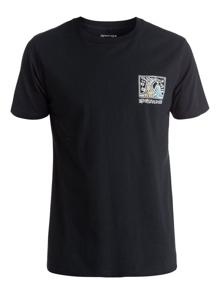 Quiksilver T-Shirt »Fine Art« in Anthracite