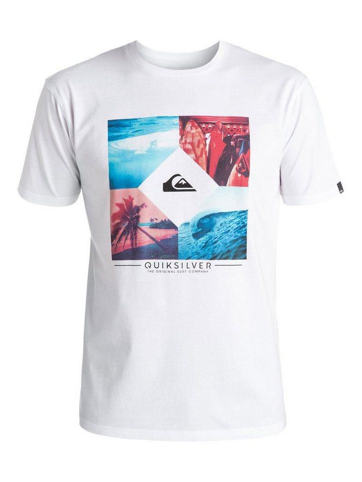 Quiksilver T-Shirt »Classic Bright Diamond« in Bright white