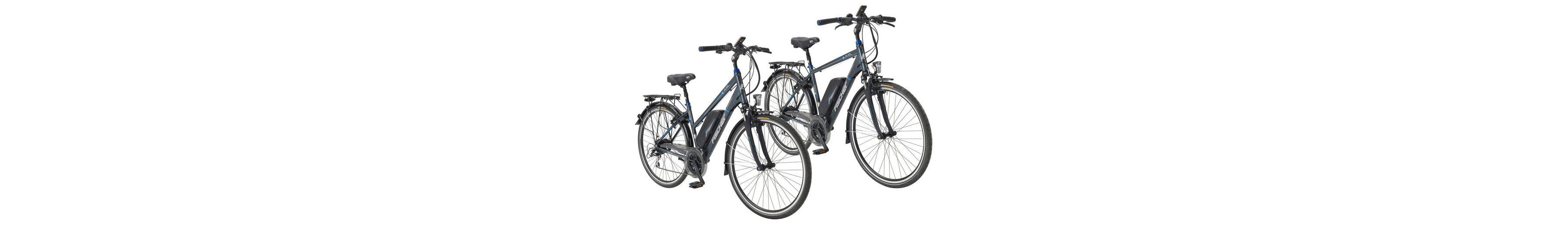 Sparset: »2 Trekking-E-Bikes im Doppelpack« (1 x Herren, 1 x Damen, 28 Zoll)
