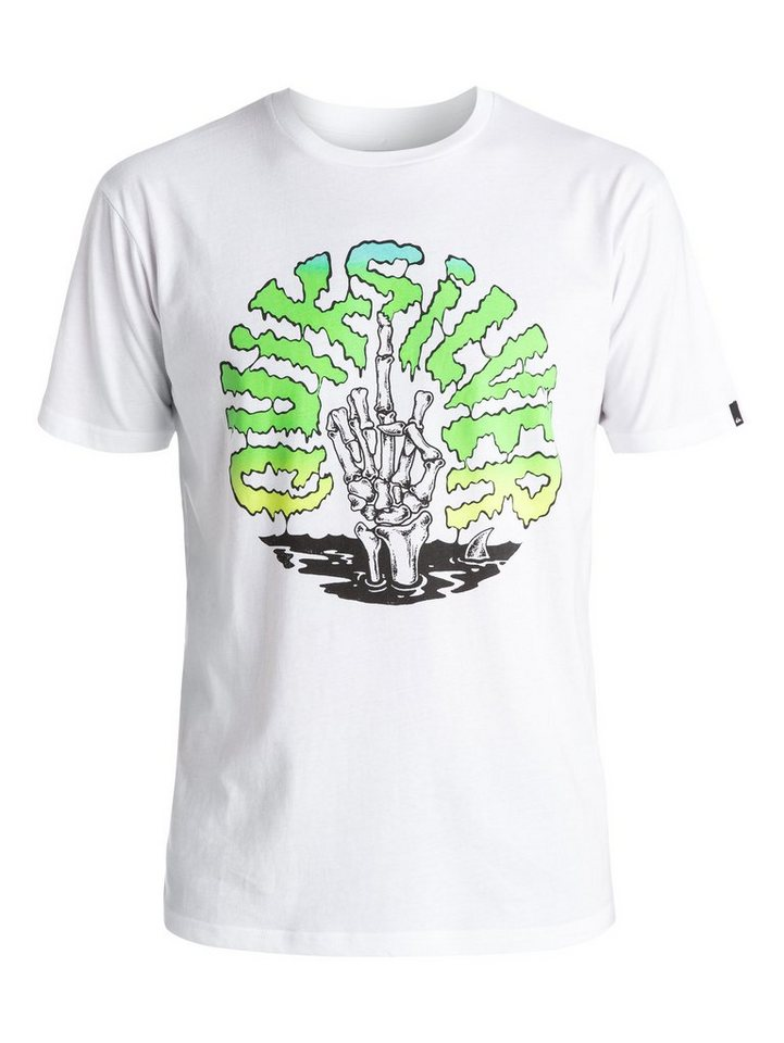 Quiksilver T-Shirt »Classic Bomba« in Bright white