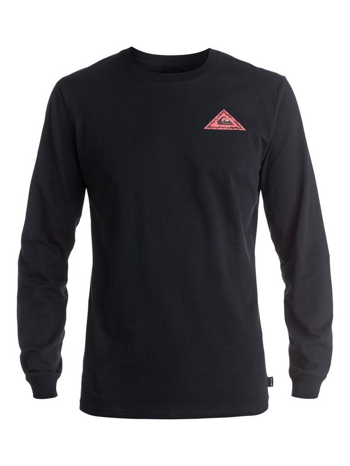 Quiksilver Longsleeve »PM Born Bad« in Anthracite