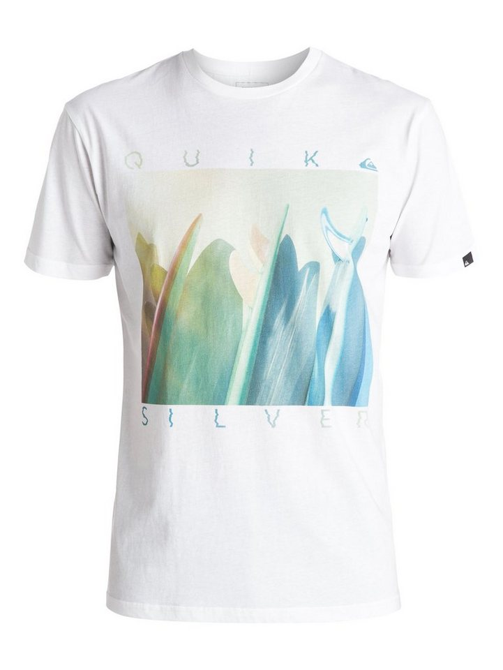 Quiksilver T-Shirt »Classic Mug Shot« in Bright white