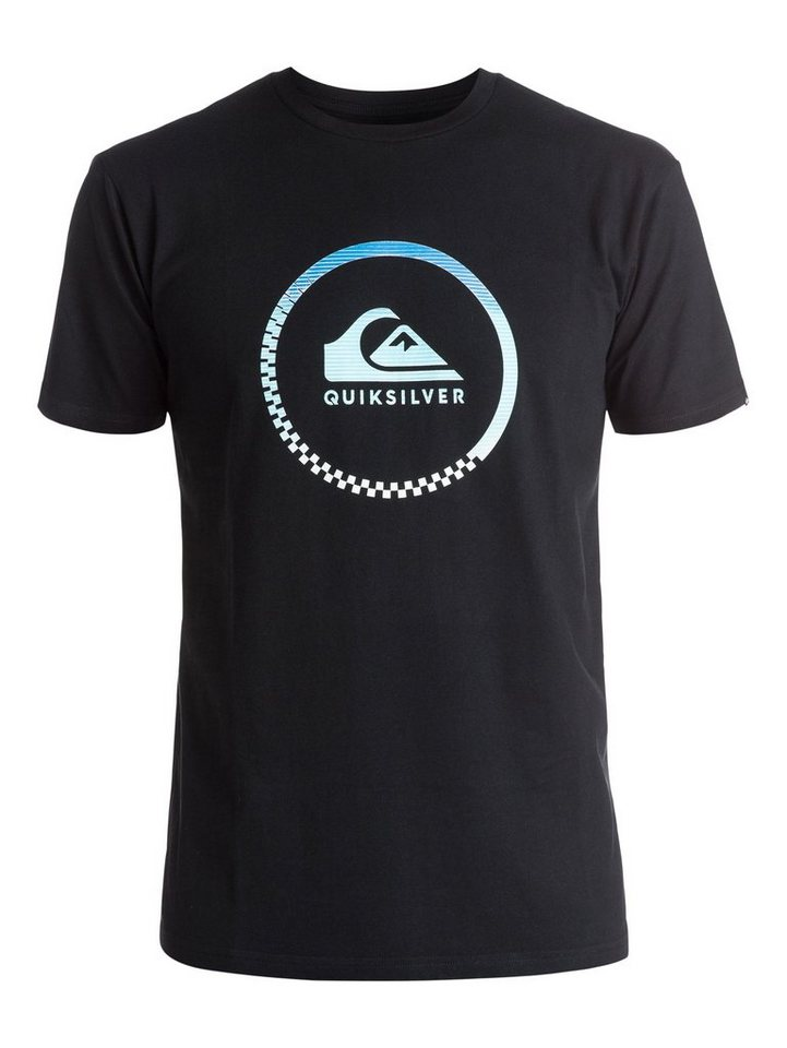 Quiksilver T-Shirt »Classic Active Logo« in Anthracite