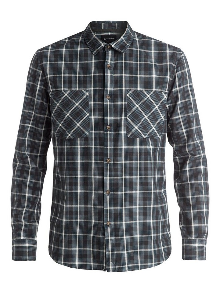Quiksilver Langarm-Hemd »Five A Side« in Tarmac