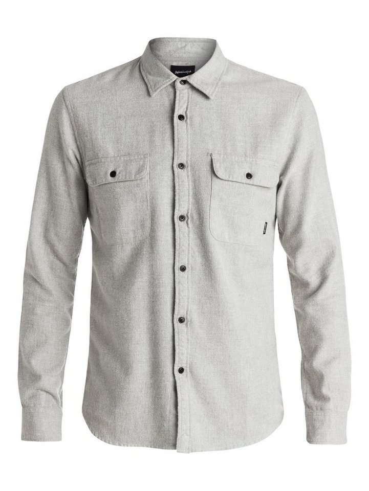 Quiksilver Langarm-Hemd »The Captaincy Flannel« in Highrise