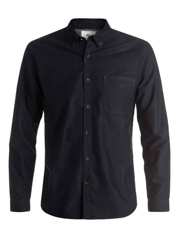 Quiksilver Langarm-Hemd »The Oxford« in Anthracite