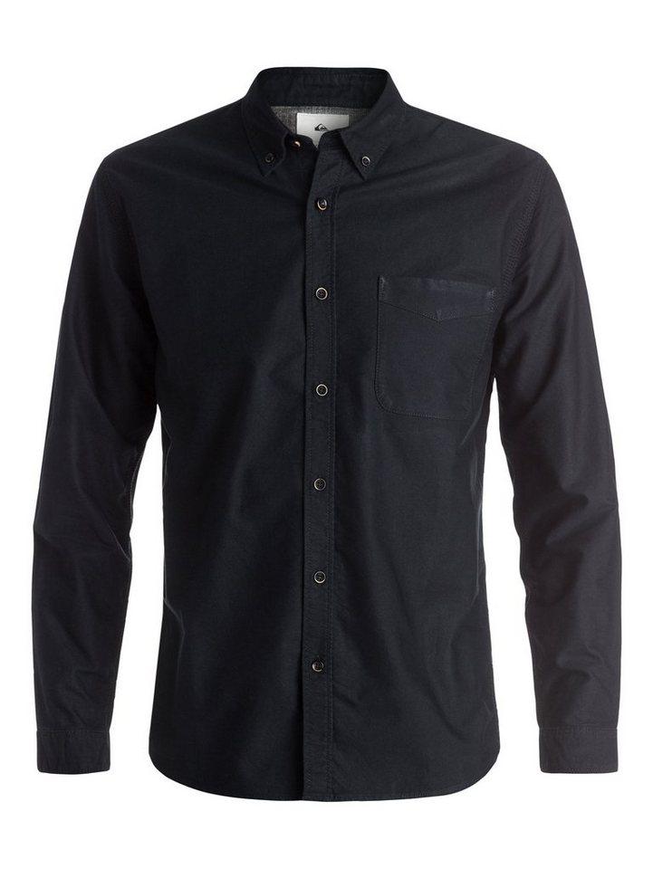 Quiksilver Langarm-Hemd »The Oxford« in Dark denim