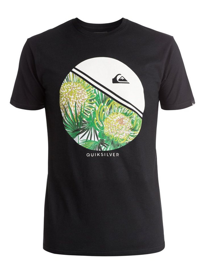 Quiksilver T-Shirt »Classic Free Wheelin« in Anthracite