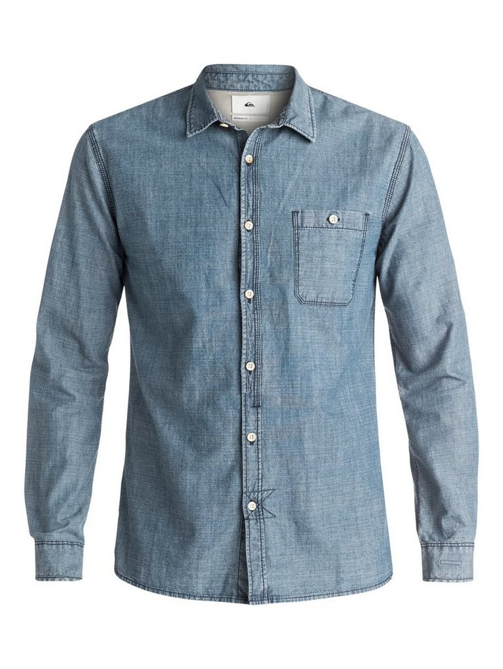 Quiksilver Langarm-Hemd »The Chambray« in Insignia blue