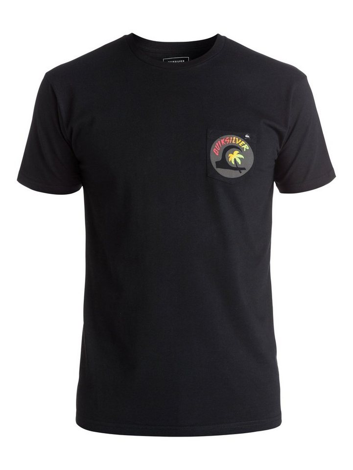 Quiksilver T-Shirt »Classic Hot Spot« in Anthracite